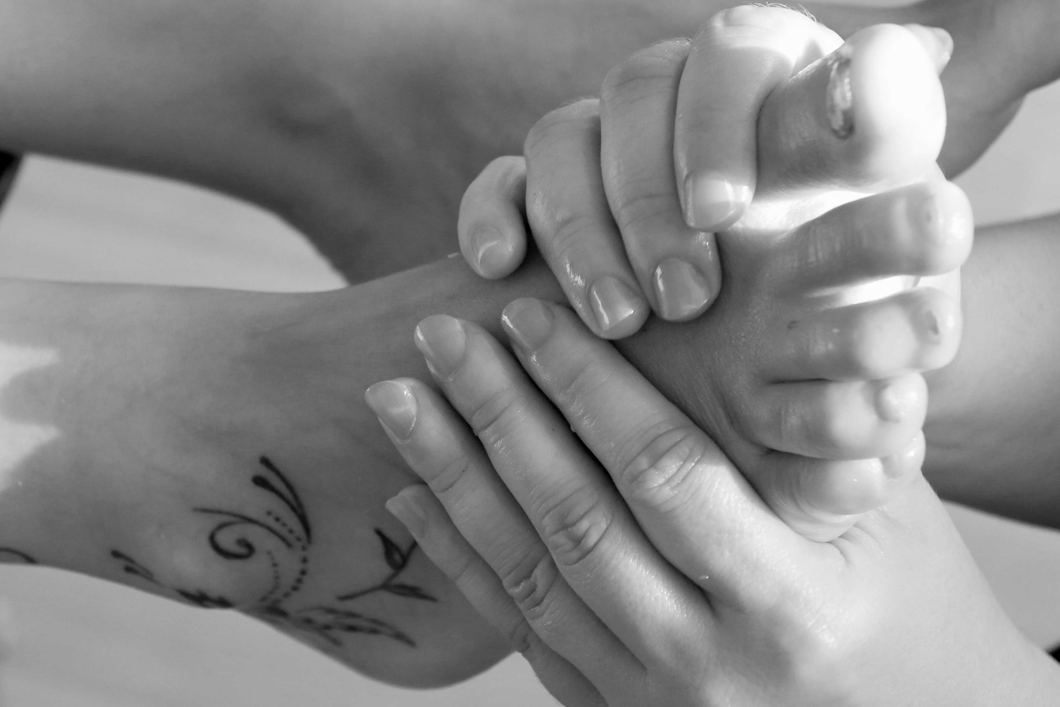 Reflexology treatments